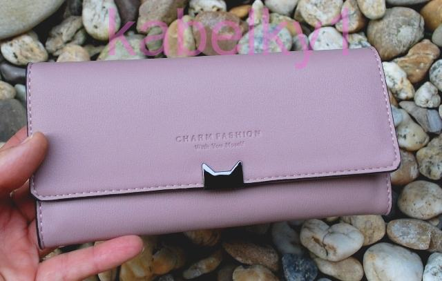 b3748b7903 Dámska peňaženka ružová staroružová tmavá tmavé kovanie