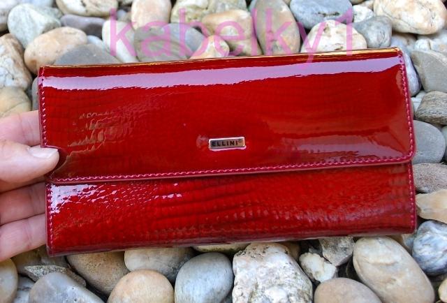 02cbe4411d Dámska tmavá červená lakovaná kožená peňaženka zips